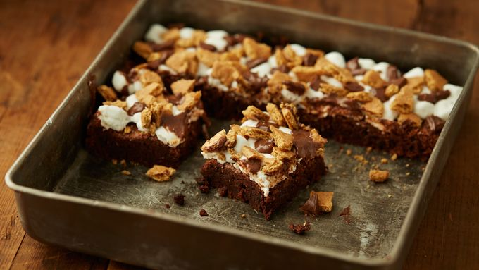 S'mores Fudgy Brownies