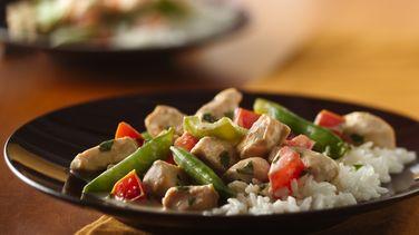 Pollo estilo Tailandés con Coco