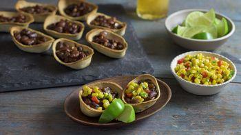 Vegetable Chili Mini Boats