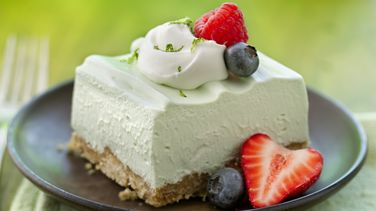 Light and Fluffy Key Lime Dessert Squares