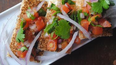 Easy Mexican Bruschetta