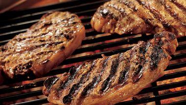 Grilled Herb Steaks
