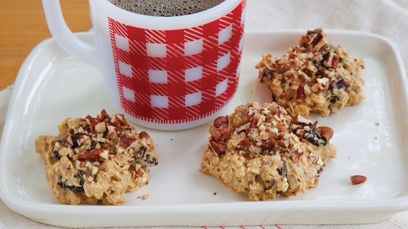 Oatmeal Pecan Snack Cookies