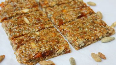 Hemp, Pumpkin Seeds, and Honey Bars
