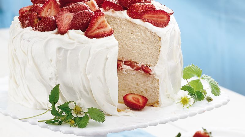 Strawberry Yogurt Cake