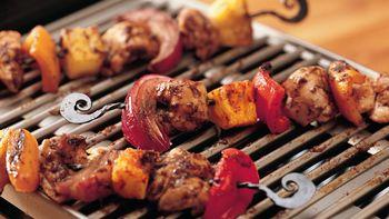 Grilled Jerk Chicken Kabobs