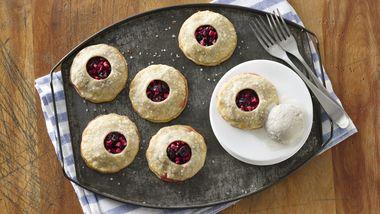Apple Cranberry Mini Pies