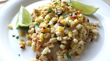 Tilapia with Roasted Corn