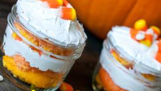 Candy Corn Trifles