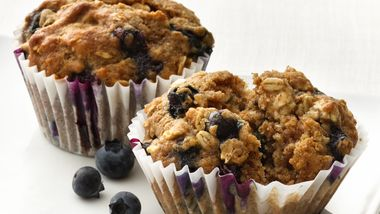 Blueberry-Oatmeal Muffins
