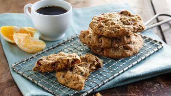 Crunchy Peanut Butter Breakfast Cookies