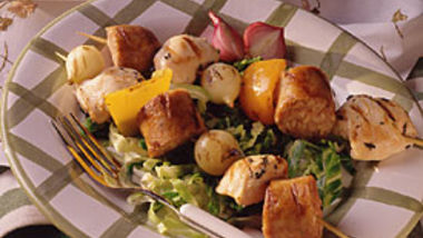 Design-Your-Own Kabobs with Fruit Sauces
