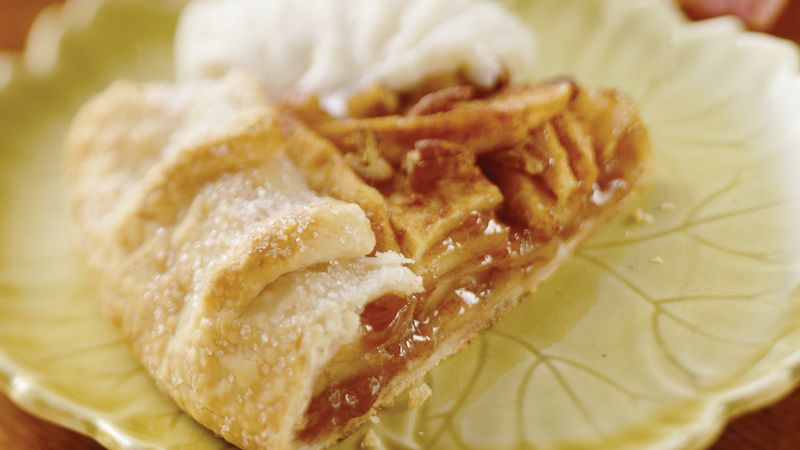 Cinnamon-Apple Crostata recipe from Betty Crocker