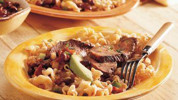 Chili Diablo Steak and Pasta