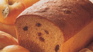 Whole Wheat Raisin Loaf