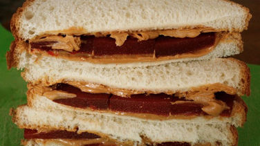 Peanut Butter and Quince Sandwich