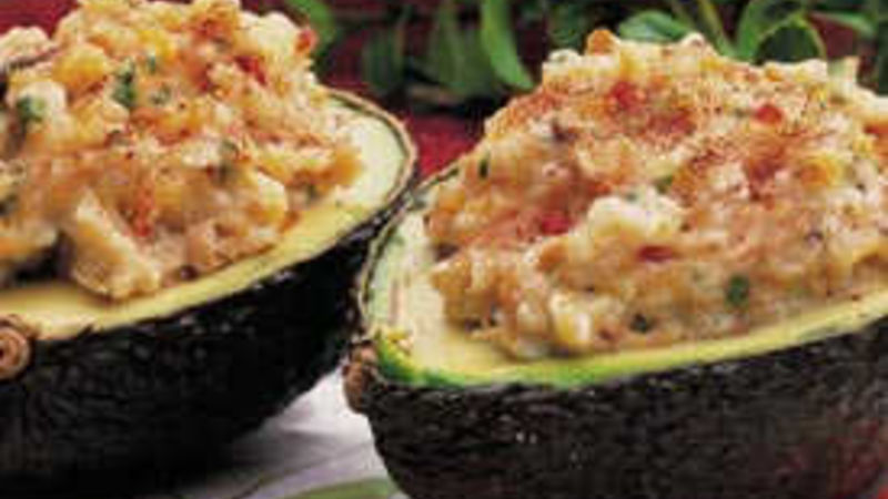 Potato-Tuna Avocados