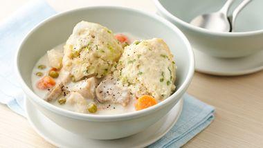 Slow-Cooker Chicken Stroganoff Pot Pie