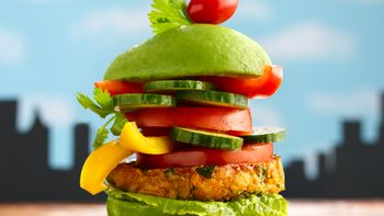 MONSTER Veggie Burgers