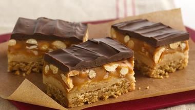 Peanut Butter Cookie Candy Bars