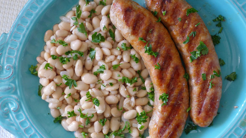 Butifarra Sausage with Mongetes