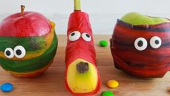 Halloween Mummy Fruit