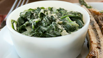 Truffled Creamed Spinach