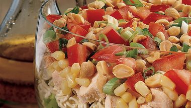 Seven-Layer Chinese Chicken Salad