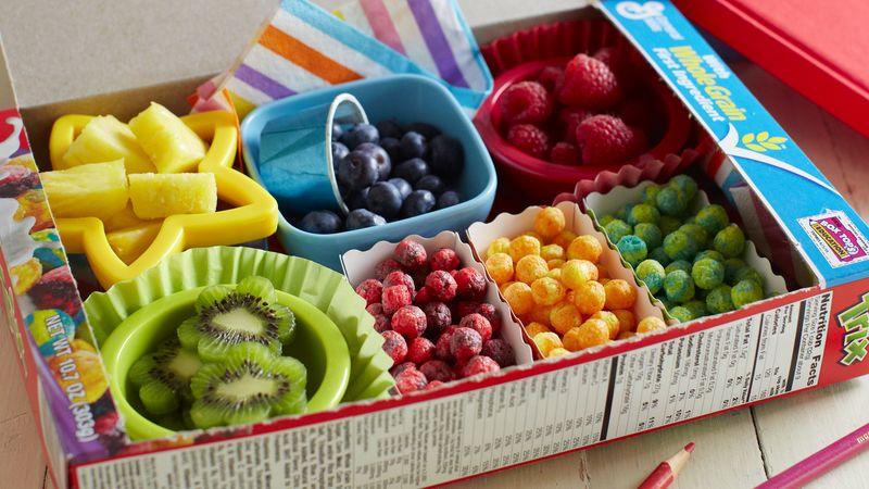 Rainbow Breakfast Bento Box