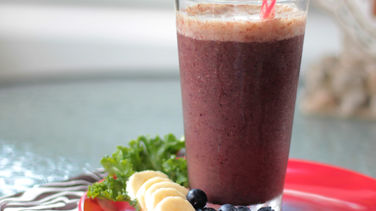 Fruit and Kale Smoothie