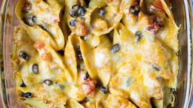 Chicken Enchilada Stuffed Pasta Shells