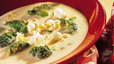 Broccoli and Beer Cheese Soup