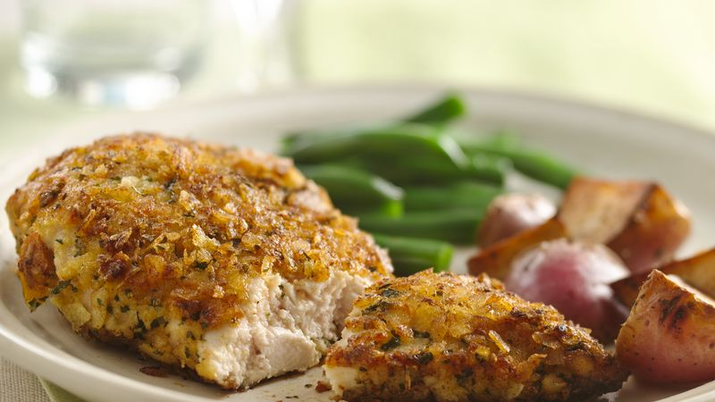 Quick and Crunchy Potato Chip Chicken