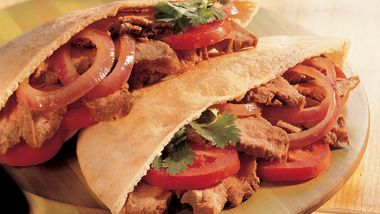 Grilled Marinated Steak Sandwiches