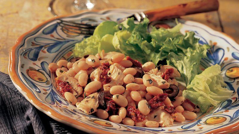 Italian White Beans with Turkey