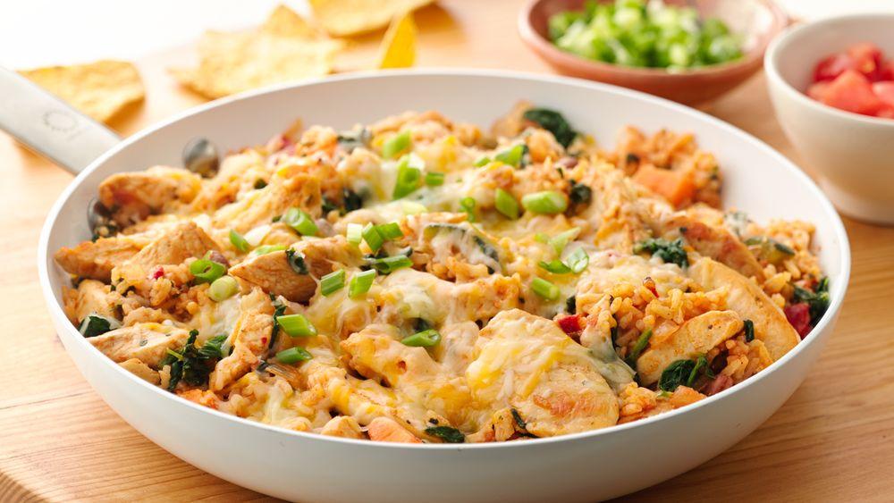 Mexican Chicken Skillet Dinner recipe from Pillsbury.com