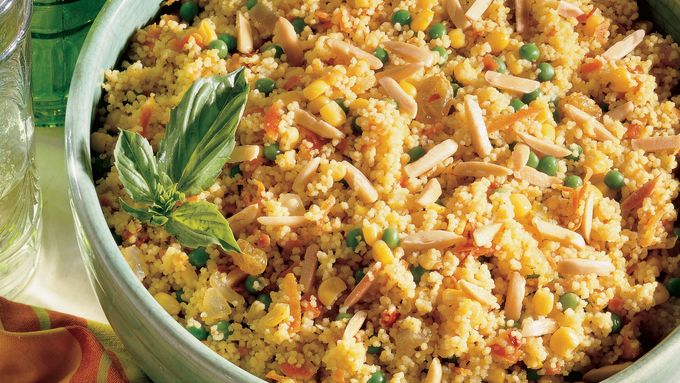 Sweet and Spicy Veggie Couscous