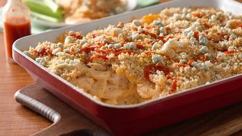 Buffalo Chicken Potato Casserole