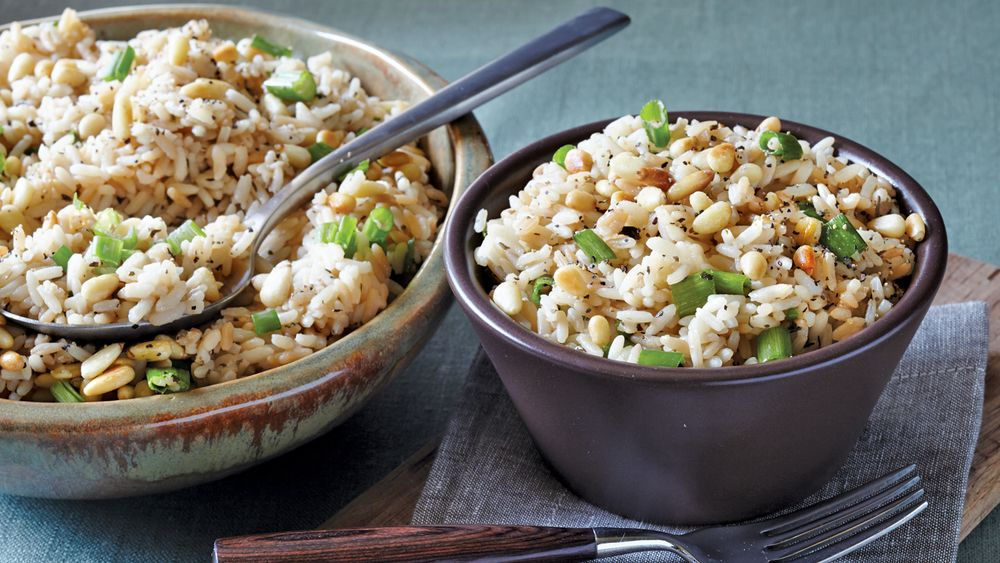 Slow-Cooker Toasted Herb Rice