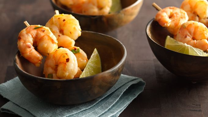 Hot and Peppery Cocktail Shrimp