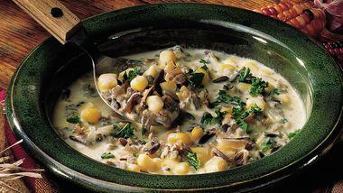 Wild Rice-Corn Soup