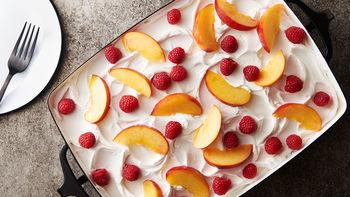 Sangria Poke Cake
