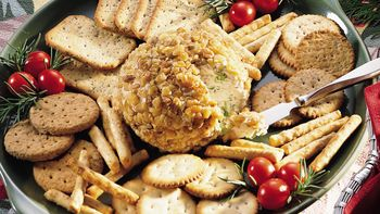 Blue Cheese Ball with Walnuts