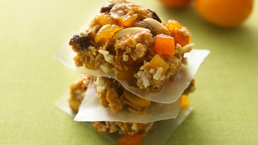 Apricot-Almond Energy Bars