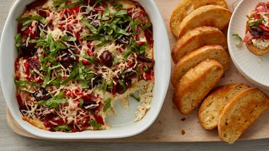 Hot Italian Antipasti Dip