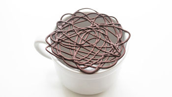 Hot Cocoa Hack: Chocolate Lace