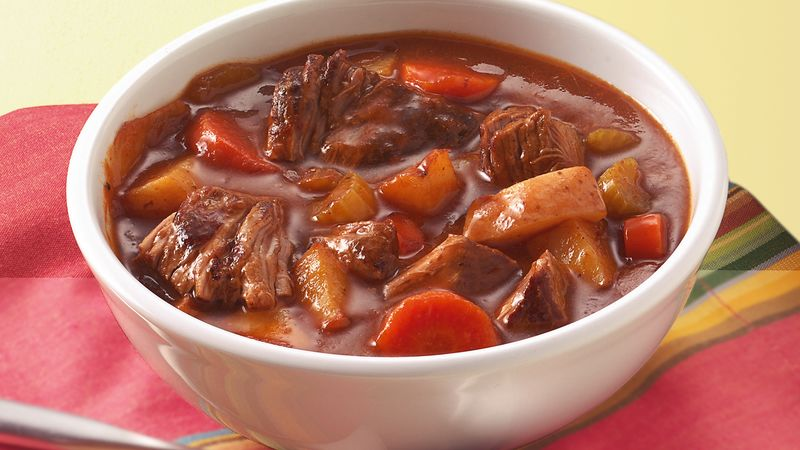 Slow-Cooker Old-Fashioned Beef Stew recipe from Betty Crocker