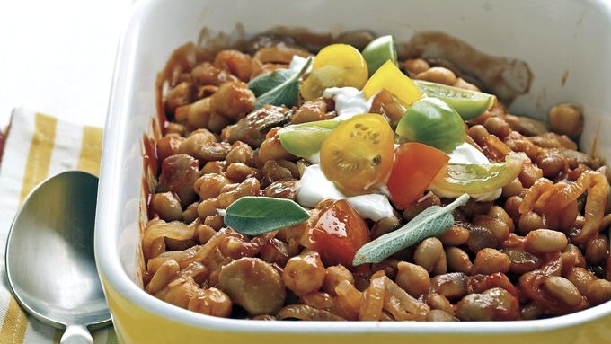 Skinny Calico Beans