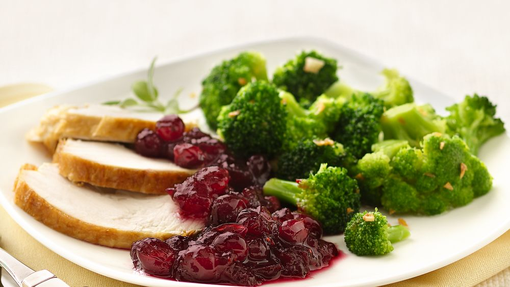Cranberry-Pomegranate Sauce