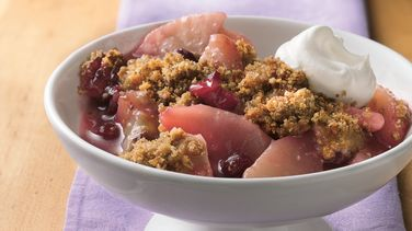 Almond-Cranberry-Pear Crisp